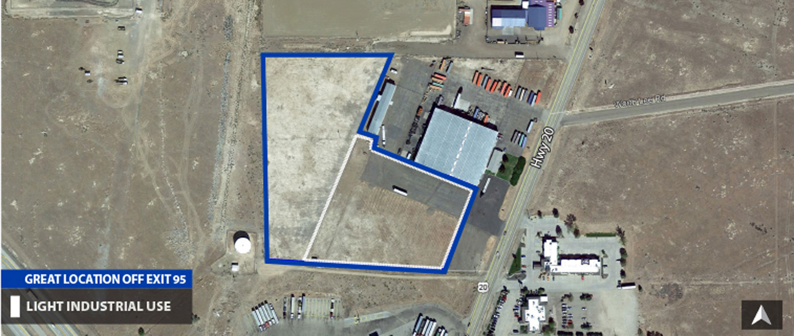 1205 Highway 20 Yard Space - Main Photo